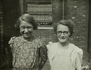 Florrie Gaulton & Minnie Balfour