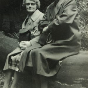 "Minnie Balfour and ""Aunty"" May Sherratt"