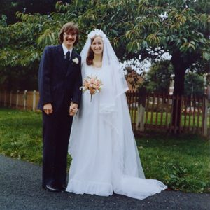 John & Sue Riley Wedding Day 4th October 1975