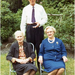 Cousin Bob, Emily Jones (nee Burns), mary Riley (nee Burns)