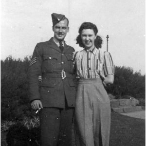 Tom and Judy Clayton 1945