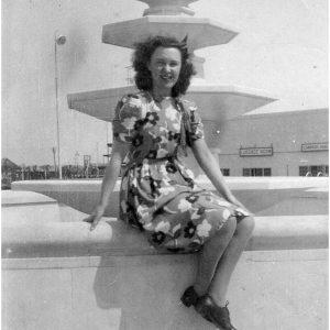 Judy Clayton (nee Riley) 1946