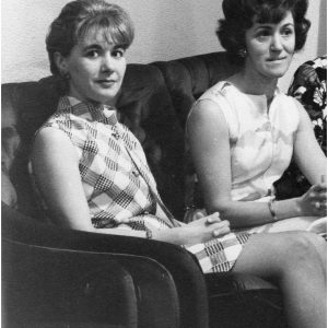 Joan Riley (Mum) and Norah Riley (nee Chapman)