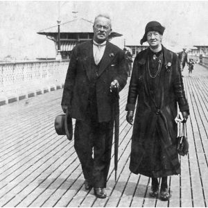Grandma and Granddad Burns, Llandudno, 1933