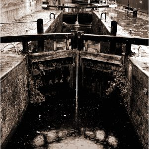 Canal Street Lock, Rochdale Canal, Manchester