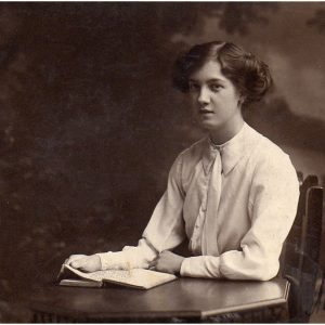 Mary (Granny) Riley (b. 2nd July 1897, d. 6th June 1982) aged 17