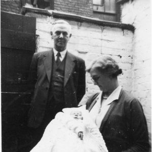 Granny and Granddad Riley at 7 Kennedy Road, Weaste