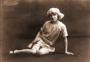 Elsie FitzGerald as Little Boy Blue