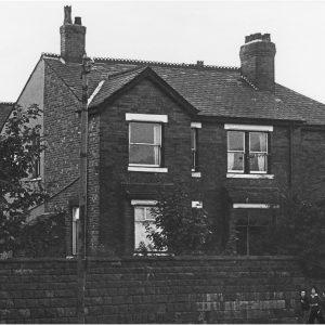 1 Moorfield Road, where I was born