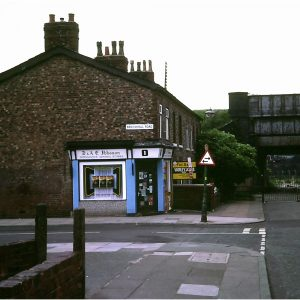 Bottom of Bank Lane
